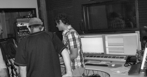 pictures of the musicians recording harriet
